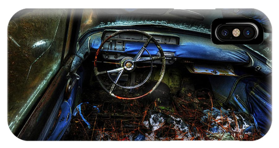 Cars IPhone X Case featuring the photograph Topless 57 by Randy Brown