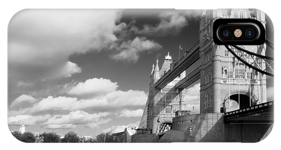 Architecture IPhone X Case featuring the photograph Tower Bridge by Darren Patterson