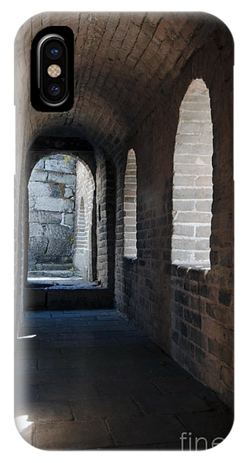 Watchtower Hall The Great Wall IPhone X Case featuring the photograph Tower In The Great Wall 695 by Terri Winkler