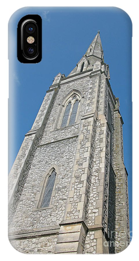 England IPhone X Case featuring the photograph Towering by Ann Horn