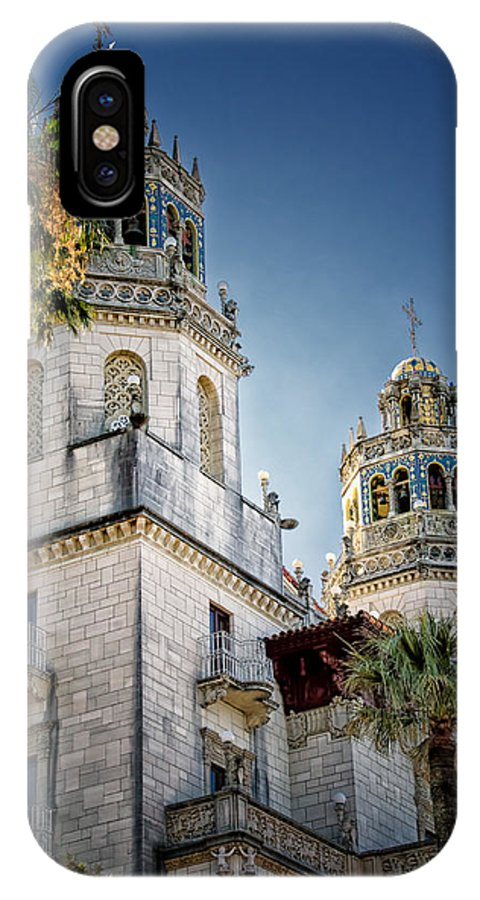 Hearst Castle IPhone X Case featuring the photograph Towers At Hearst Castle - California by Jon Berghoff