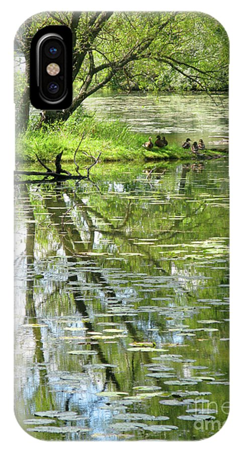 Reflection IPhone Case featuring the photograph Tranquility by Ann Horn