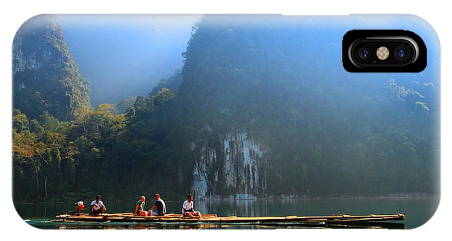 Thailand IPhone X Case featuring the photograph Travel In South Of Thailand by Teerawut Punsorn