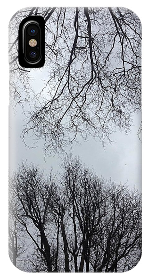 Nature IPhone X Case featuring the photograph Treeching For More by Hannah Rose