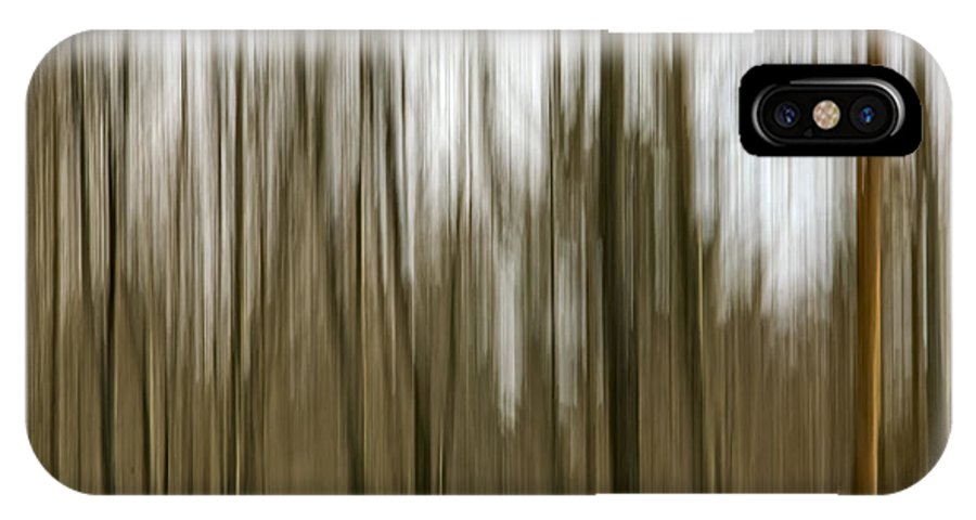 Trees IPhone X Case featuring the photograph Trees #2 by David Stone