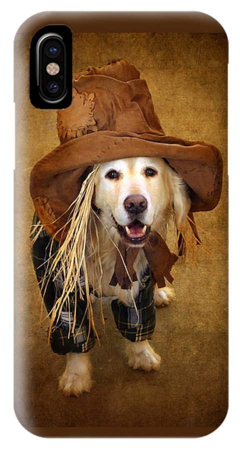 Animal IPhone X Case featuring the photograph Trick Or Treat by Jessica Jenney