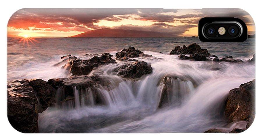 Hawaii IPhone X Case featuring the photograph Tropical Cauldron by Mike Dawson