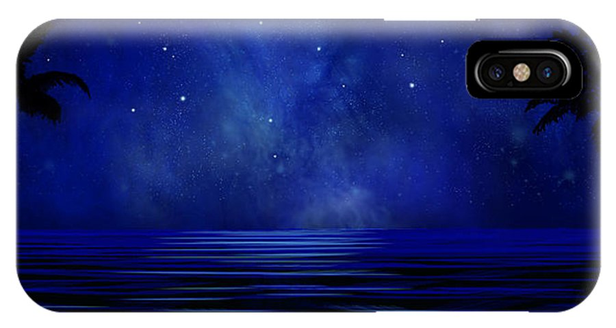 Tropical Dreams IPhone Case featuring the painting Tropical Dreams Wall Mural by Frank Wilson