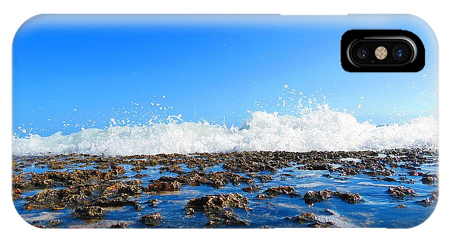 Landscape IPhone X Case featuring the photograph Tropical White Waters by Colton Macaulay