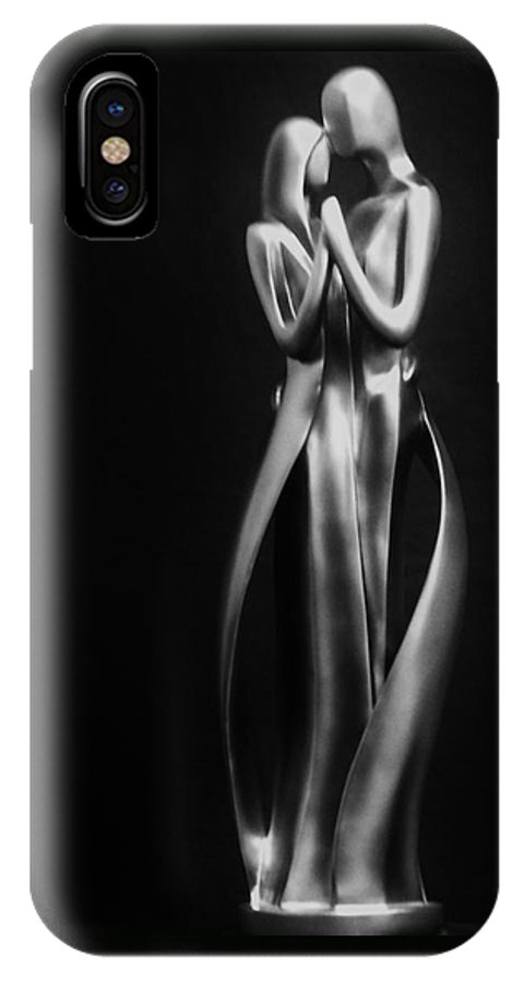Lovers IPhone X / XS Case featuring the photograph True Love by Christina Stanley