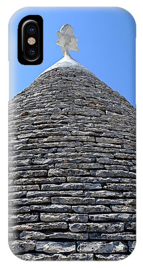 Trullo Alberobello IPhone X Case featuring the photograph Trullo by Gianmarco Cicuzza