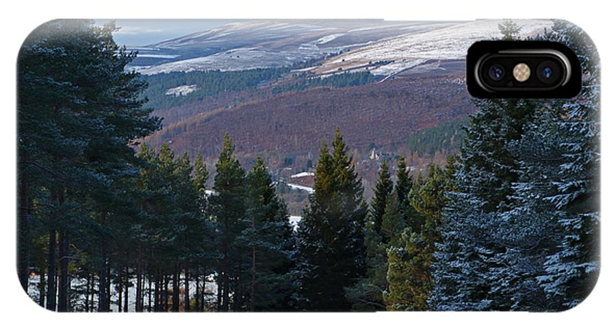 Tulchan IPhone X Case featuring the photograph Tulchan Estate - Early Winter by Phil Banks