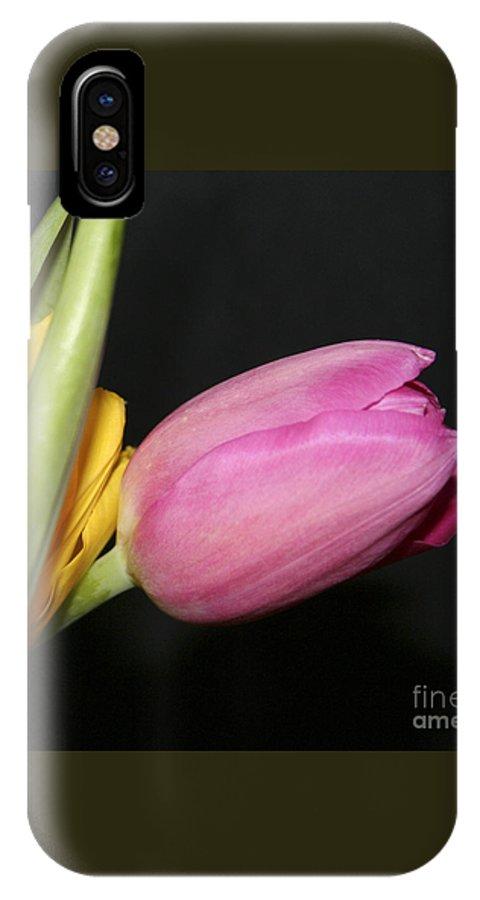 #tulip #nature IPhone X Case featuring the photograph Tulip 2 by Jacquelinemari
