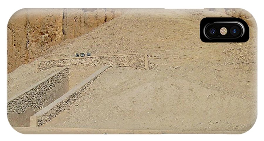 Landscape IPhone X Case featuring the photograph Turn Left At The Next Pile Of Sand by John Malone