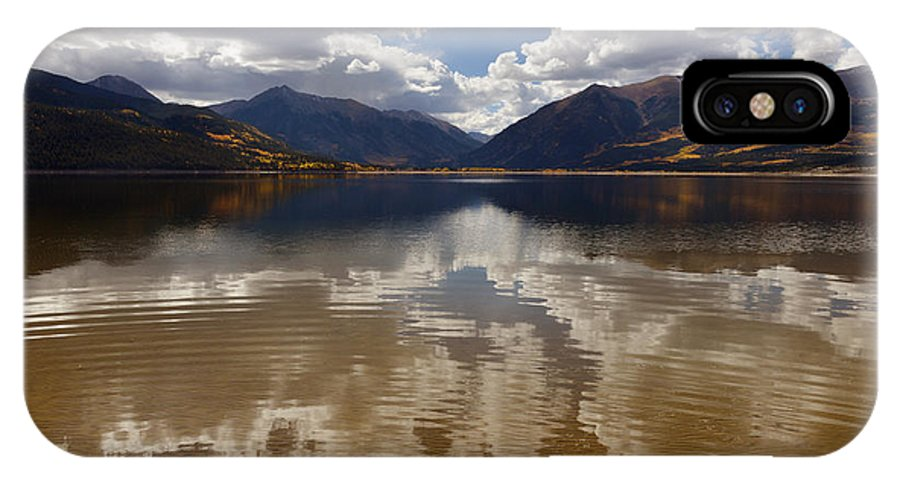 Twin Lake IPhone X Case featuring the photograph Twin Lake Colorado by Thanh Nguyen