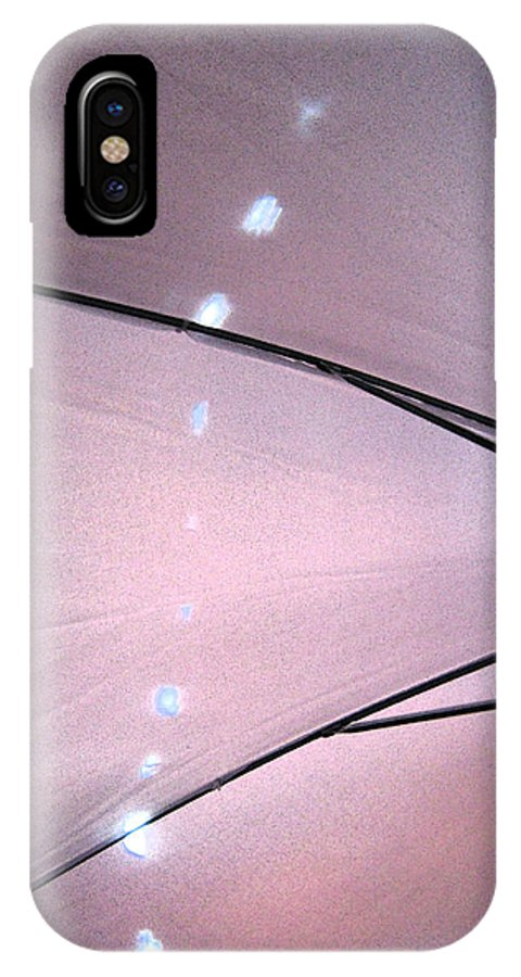Umbrella IPhone X Case featuring the photograph Umbrella Abstract 11 by Mary Bedy