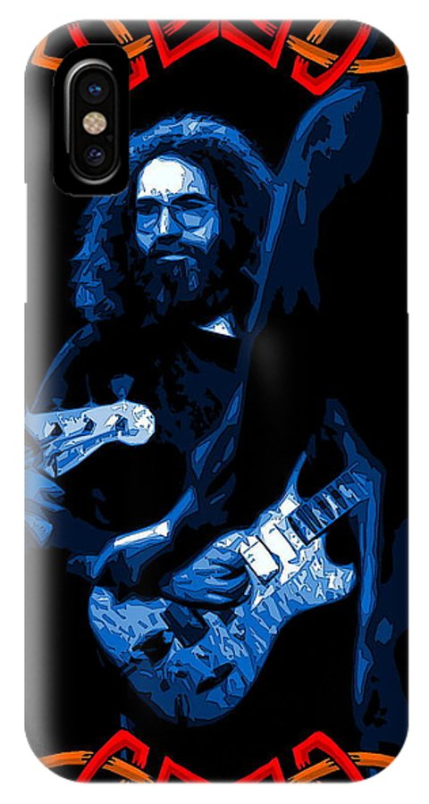 Jerry Garcia IPhone X Case featuring the photograph Unbroken Love by Ben Upham