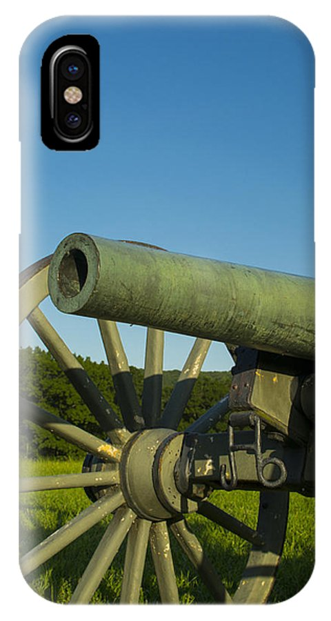 Cannon IPhone X Case featuring the photograph Under A Blue Sky by Michael Williams