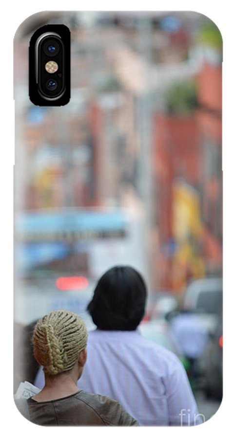 Under Control IPhone X Case featuring the photograph Under Control by Brian Boyle