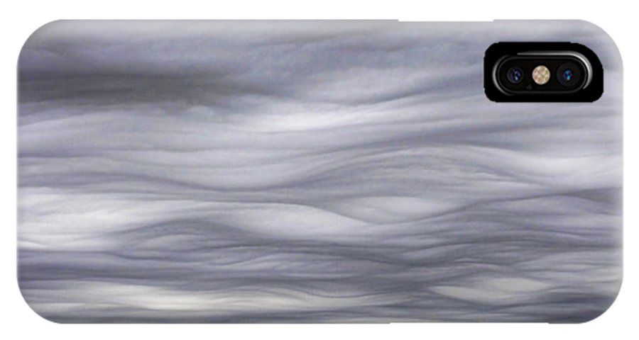 Clouds IPhone X Case featuring the photograph Undulatus Asperatus Skies 3 by Shannon Story