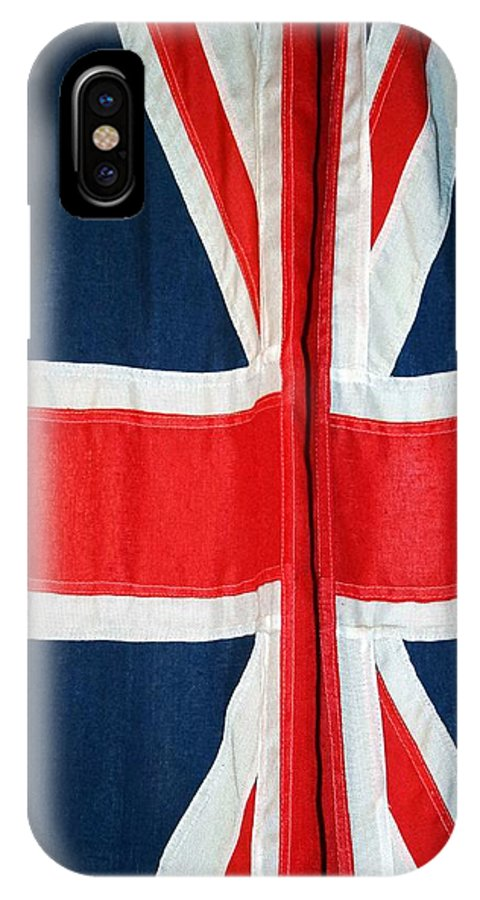 Union Jack IPhone X Case featuring the photograph Union Jack by Frank Luxford