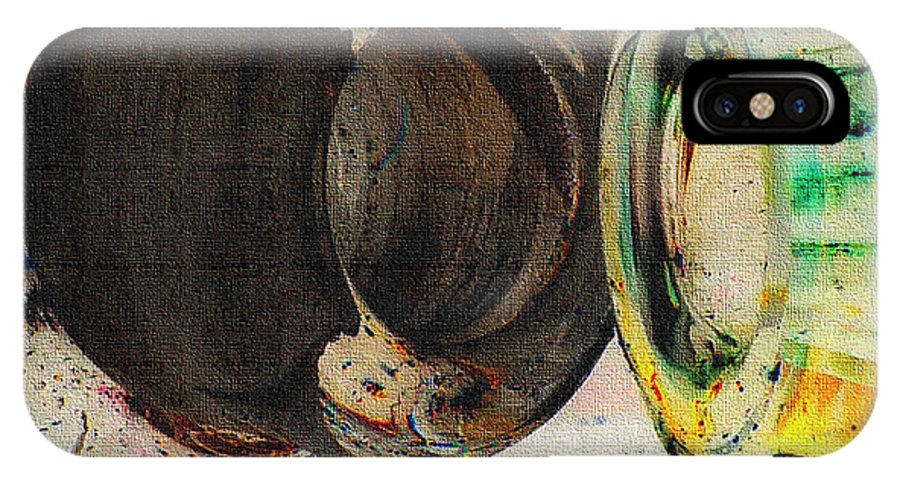 B.l.hickman Photo Art IPhone X Case featuring the photograph Untitled Abstract No.3 by B L Hickman