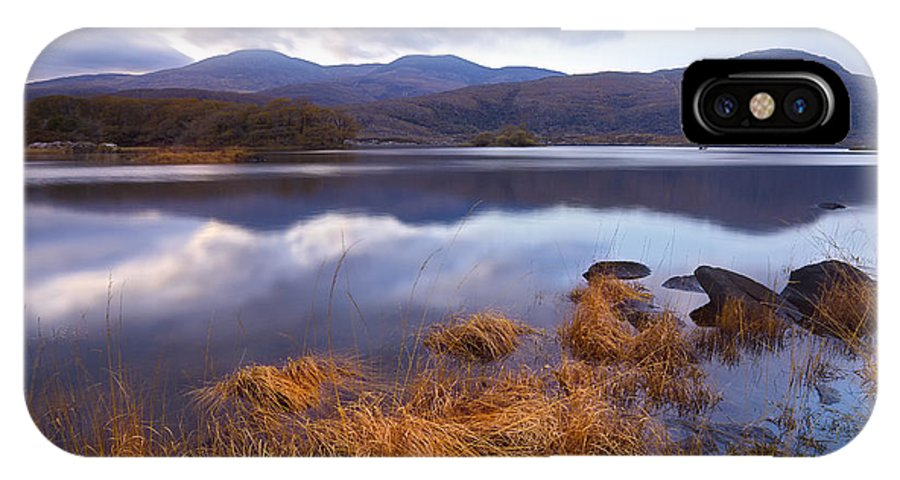 Killarney IPhone X Case featuring the photograph Upper Lake Killarney by Michael Walsh