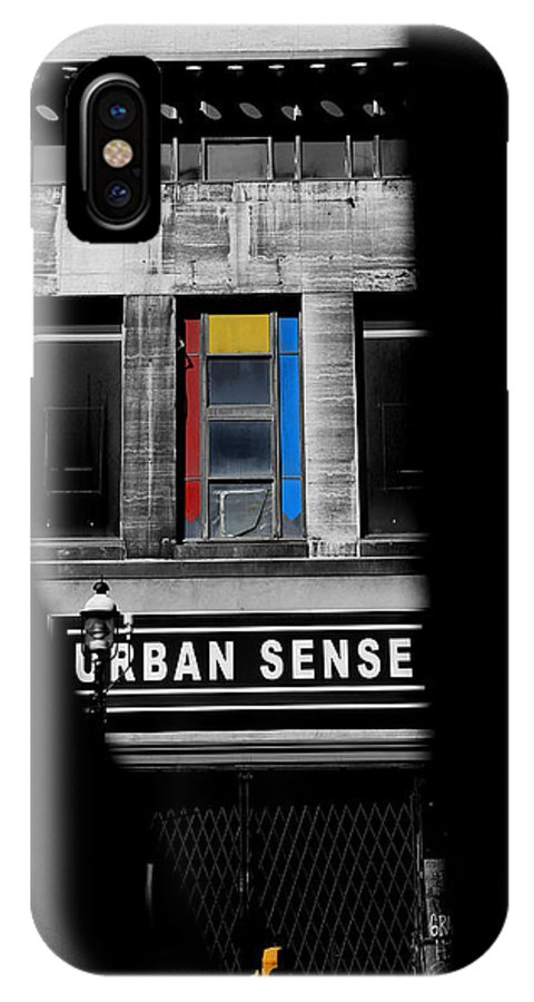 Toronto IPhone X Case featuring the photograph Urban Sense 1c by Andrew Fare
