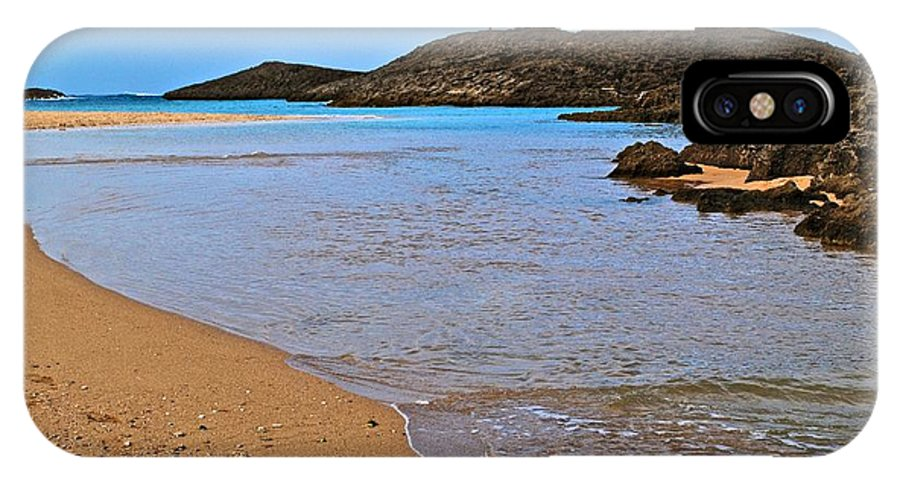 IPhone X Case featuring the photograph Vega Baja Beach 2 by Ricardo J Ruiz de Porras