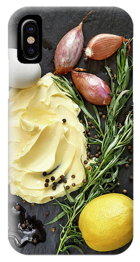 Lemon IPhone X Case featuring the photograph Vegetables II by #name?
