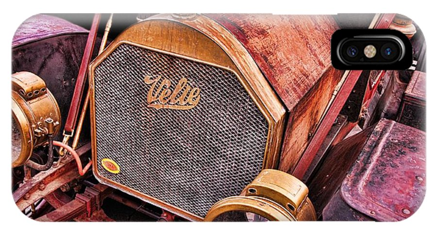 Antique IPhone X Case featuring the photograph Velie by Norm Hoekstra