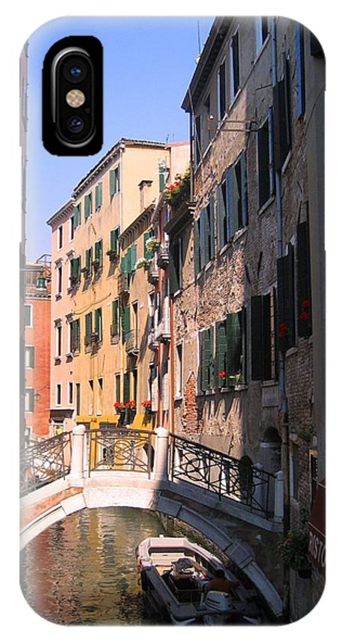 Venice IPhone X Case featuring the photograph Venice by Dany Lison