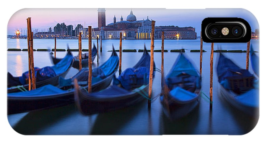 Venice IPhone X Case featuring the photograph Venice Morning by Peggy Kahan