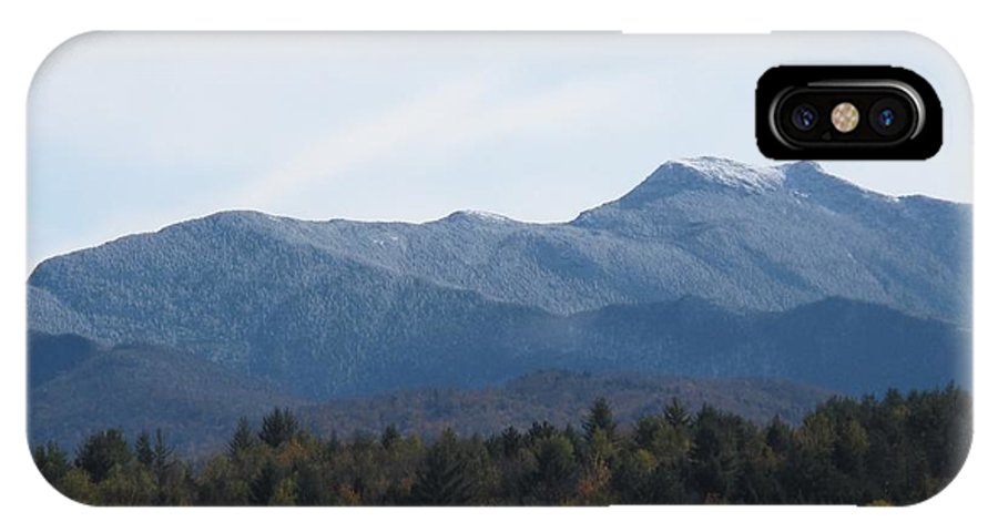 Mountains IPhone X Case featuring the photograph Vermont Mountains by Barbara McDevitt