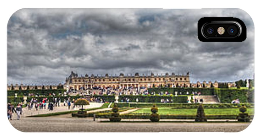Versailles IPhone X / XS Case featuring the photograph Versailles In The Afternoon by Ross Henton