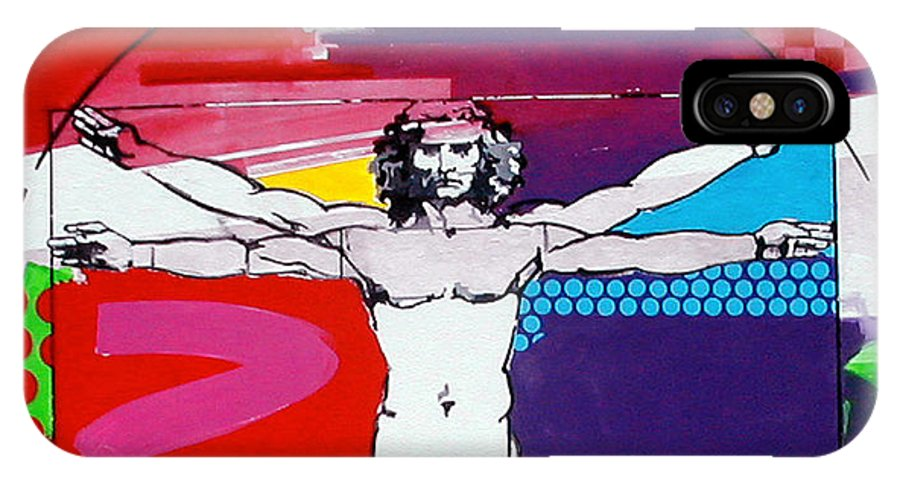 Classic IPhone Case featuring the painting Vetruvian by Jean Pierre Rousselet