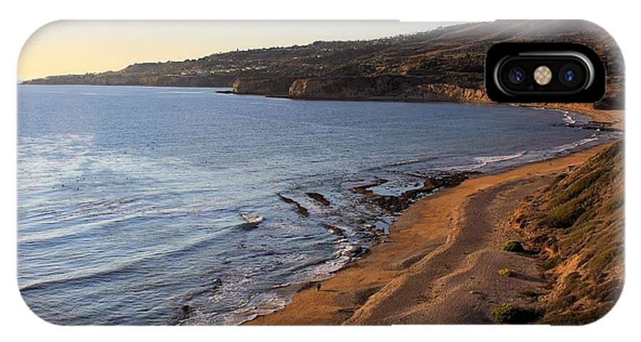 View On Portuguese IPhone X Case featuring the photograph View On Portuguese Bend by Viktor Savchenko