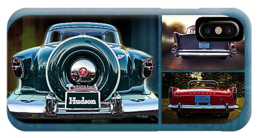 Vintage Automobiles IPhone X Case featuring the photograph Vintage Automobiles by Mary Machare