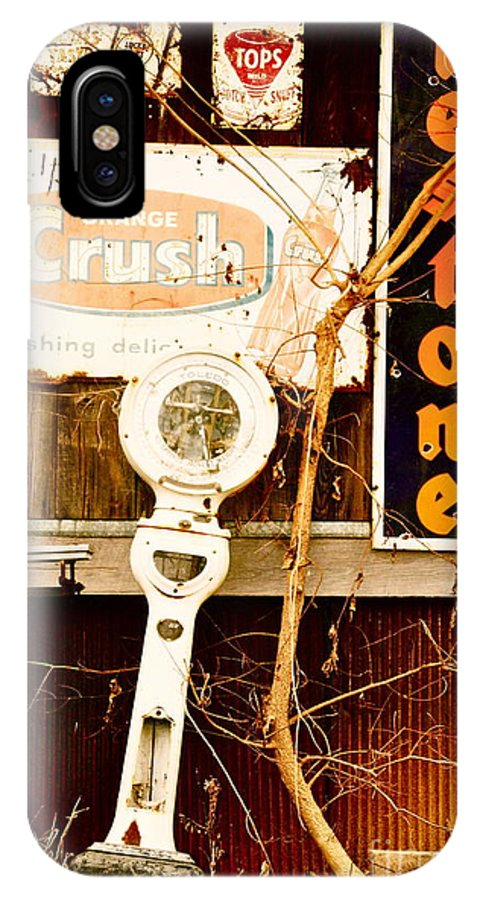 Kim Nickoson IPhone X Case featuring the photograph Vintage Crush by Kimberly Nickoson