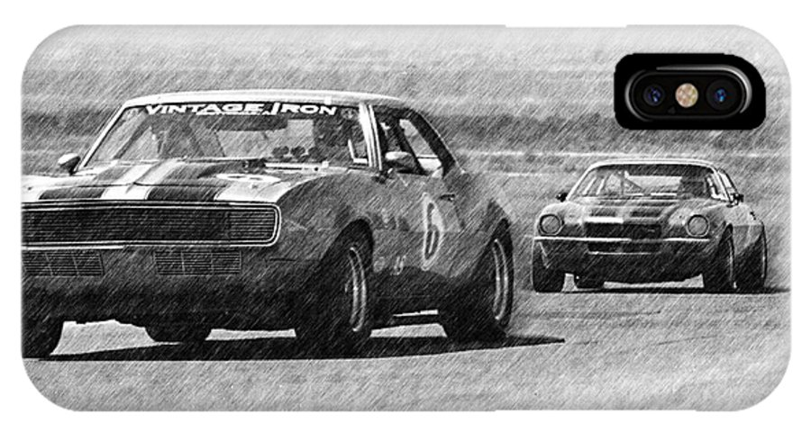 Camaro IPhone X Case featuring the photograph Vintage Iron by Tom Griffithe