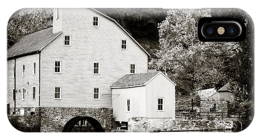 Vintage Mill IPhone X Case featuring the photograph Vintage Mill by John Rizzuto