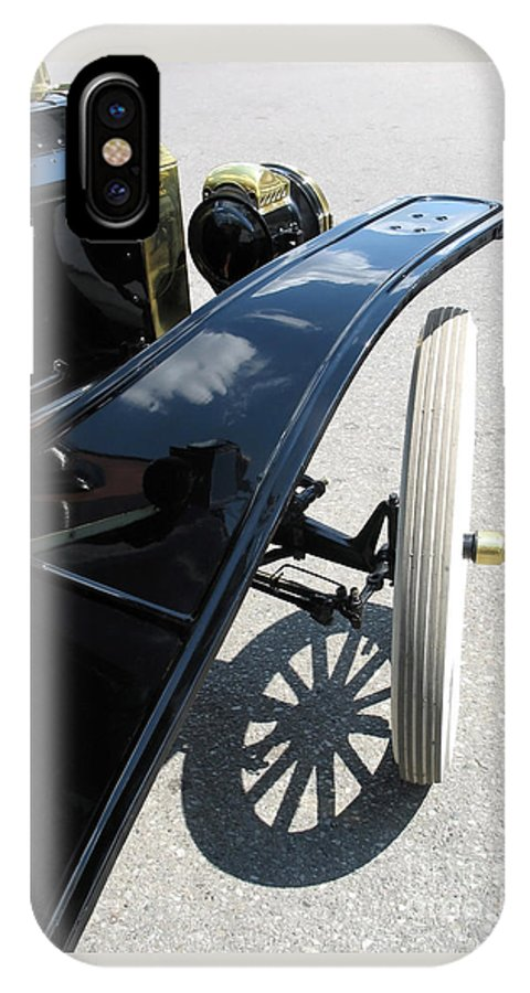 Model T IPhone Case featuring the photograph Vintage Model T by Ann Horn