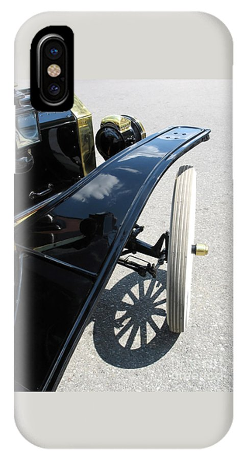 Model T IPhone X Case featuring the photograph Vintage Model T by Ann Horn