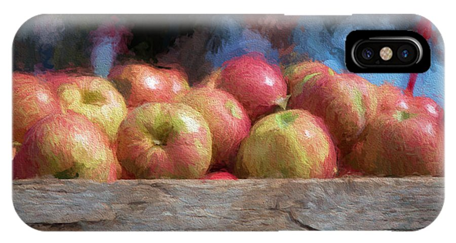 Canon IPhone X Case featuring the photograph Virginia Apples by James Orme