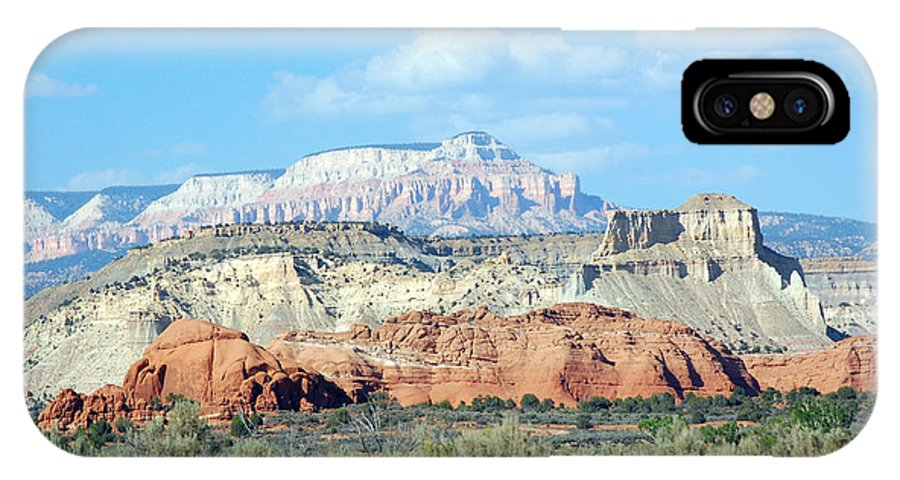 Utah IPhone X / XS Case featuring the photograph Visions Of Utah by Debra Thompson