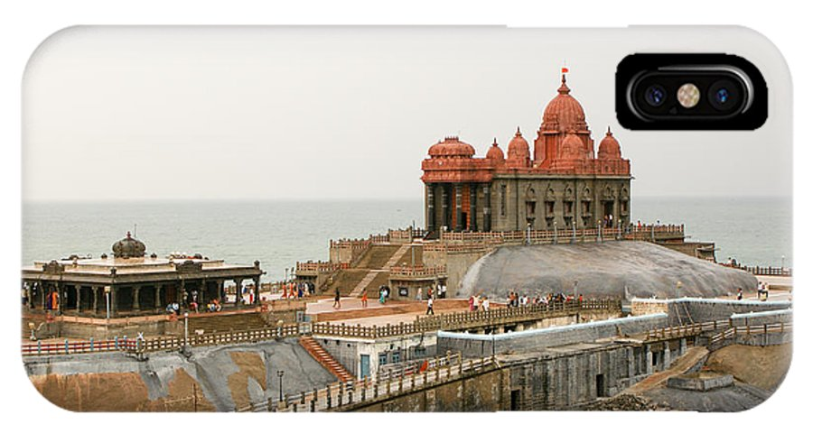 Building IPhone X / XS Case featuring the photograph Vivekananda Memorial by Helix Games Photography