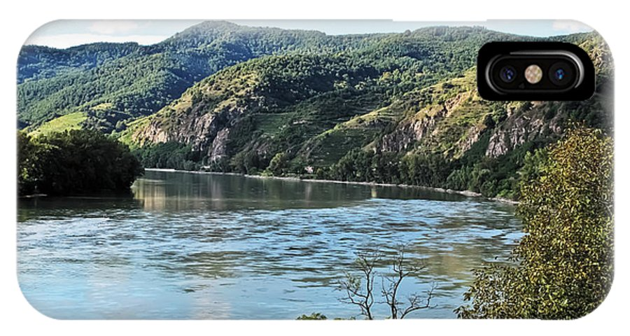 Travel IPhone X Case featuring the photograph Wachau Valley by Elvis Vaughn