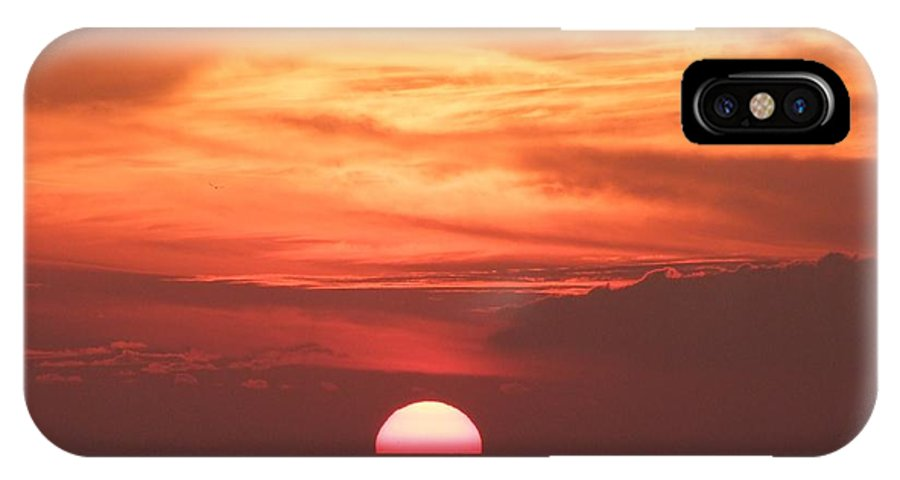 Sunset IPhone X Case featuring the photograph Waikiki Sunset No 3 by Mary Deal