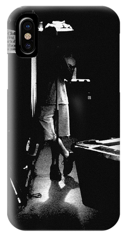 Billiards IPhone X Case featuring the photograph Waiting In The Shadows by RC DeWinter