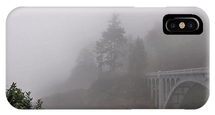 Fog IPhone X Case featuring the photograph Waiting by Katie Wing Vigil